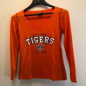 Auburn Tigers Junior's Long Sleeve Shirt Size M